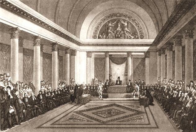 La réunion du Grand Sanhédrin