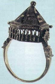 bague de mariage juive datant du moyen age découverte dans un trésor ...