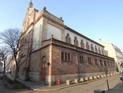 incendie de la synagogue de mulhouse