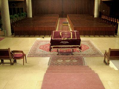 Construction de la nouvelle synagogue for La paix interieur